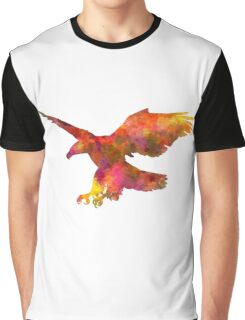 Bald Eagle 01 in watercolor Graphic T-Shirt