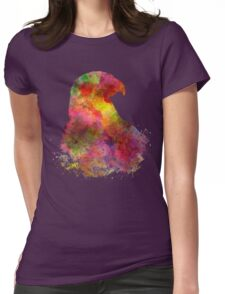 Bald Eagle 02 in watercolor Womens Fitted T-Shirt
