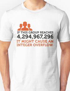 Group Integer Overflow T-Shirt