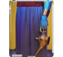 Genie and the lamp II iPad Case/Skin