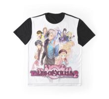TALES OF XILLIA 2 TSHIRT coverart + logo Graphic T-Shirt
