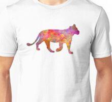 Female Lion 01 in watercolor Unisex T-Shirt