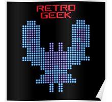 Retro Geek - Galaxian Poster