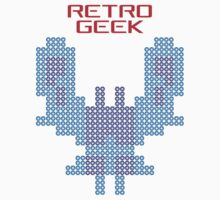 Retro Geek - Galaxian One Piece - Short Sleeve