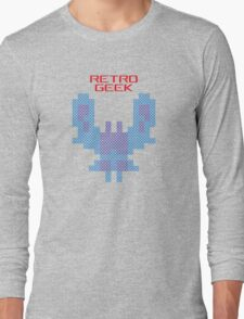 Retro Geek - Galaxian Long Sleeve T-Shirt