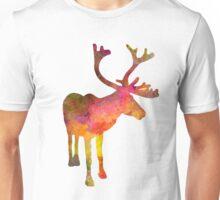 Reindeer 02 in watercolor Unisex T-Shirt