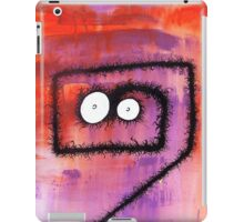 the creatures from the drain painting 6 iPad Case/Skin