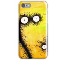 the creatures from the drain painting 14 iPhone Case/Skin