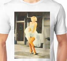 Marilyn Monroe by Frank Falcon Unisex T-Shirt