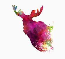 Moose 05 in watercolor Unisex T-Shirt