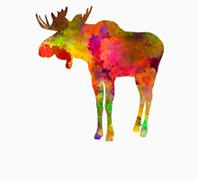 Moose 03 in watercolor Unisex T-Shirt