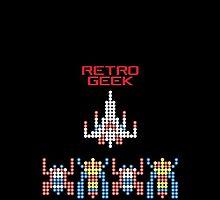 Retro Geek - Galaga by SingerNZ