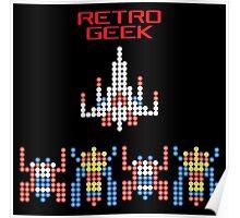 Retro Geek - Galaga Poster