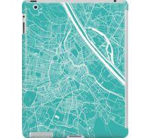 Vienna map turquoise iPad Case/Skin