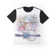 TALES OF GRACES TSHIRT coverart + logo Graphic T-Shirt
