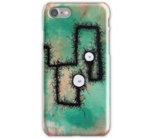 the creatures from the drain painting 9 iPhone Case/Skin