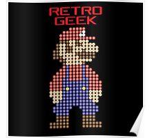 Retro Geek - Mario Poster