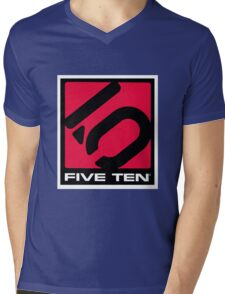 FIVETEN Mens V-Neck T-Shirt