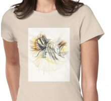 Enveloped Womens Fitted T-Shirt