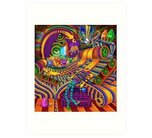 The Conductor of Consciousness Art Print