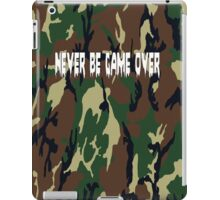 Never Be Game Over iPad Case/Skin