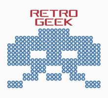 Retro Geek - Space Invaders Baby Tee