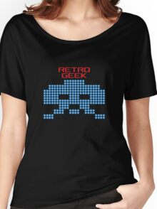 Retro Geek - Space Invaders Women's Relaxed Fit T-Shirt