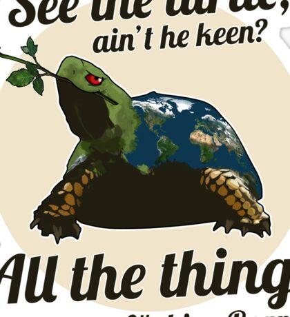 Keen Turtle Sticker