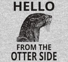 Hello From The Otter Side One Piece - Long Sleeve
