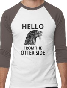 Hello From The Otter Side Men's Baseball ¾ T-Shirt