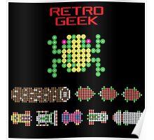 Retro Geek - Frogger Poster