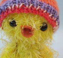 Handmade bears from Teddy Bear Orphans - Funky Chick Sticker