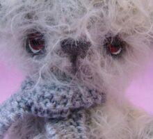 Handmade bears from Teddy Bear Orphans - Whisper Sticker