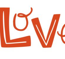 Love ♥ Sticker