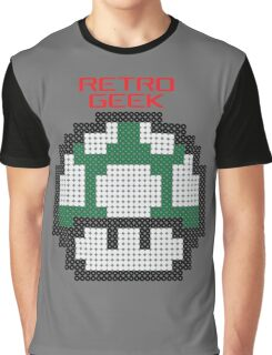 Retro Geek - One Up Graphic T-Shirt