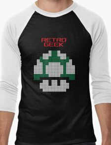 Retro Geek - One Up Men's Baseball ¾ T-Shirt