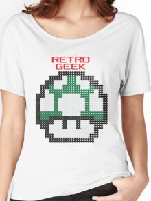 Retro Geek - One Up Women's Relaxed Fit T-Shirt