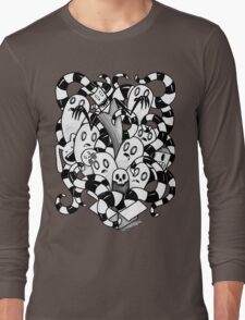 little Doodle Monsters #3 Box of Fright! Long Sleeve T-Shirt