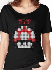 Retro Geek - Get Big Women's Relaxed Fit T-Shirt