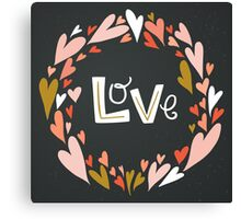 Love ♥ Canvas Print
