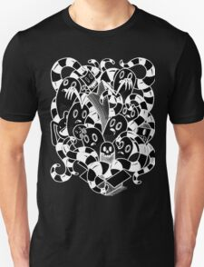 little Doodle Monsters #3 Box of Fright! (inverted) Unisex T-Shirt