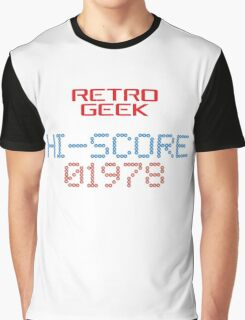 Retro Geek - Hi-Score Graphic T-Shirt