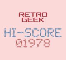 Retro Geek - Hi-Score One Piece - Long Sleeve