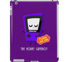 The Horny Gameboy (Purple) iPad Case/Skin