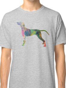 Weimaraner in watercolor Classic T-Shirt