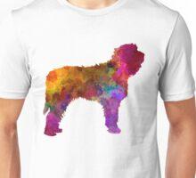 Otterhound in watercolor Unisex T-Shirt