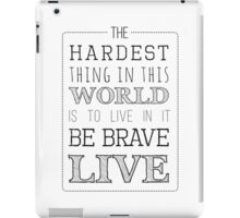 Buffy Typography iPad Case/Skin