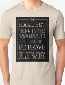 Buffy Typography Inverted T-Shirt