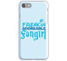 Freakin ADORKABLE fangirl iPhone Case/Skin