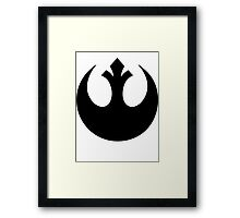 Rebel Alliance  Framed Print